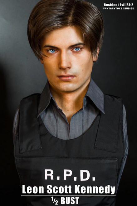 【PRE-ORDER】  Resident Evil RE:2 Leon Scott Kennedy RPD 1/2
