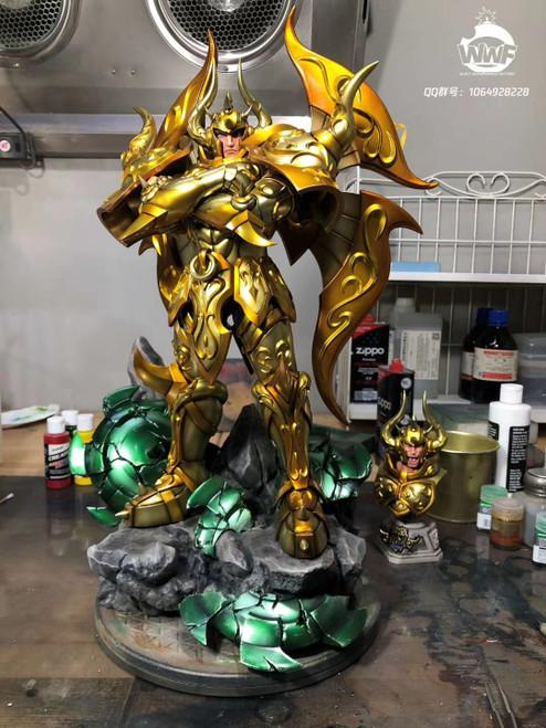 【PRE-ORDER】WWF  studio Gold Saint Aldebaran resin  statue
