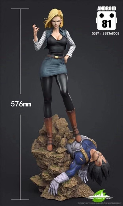 【IN-STOCK】GREEN  LEAF Android 18  1/4 scale  resin statue