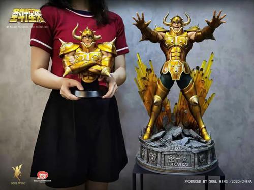 PRE-ORDER】soulwing Studio  Gold Saint Aldebaran resin  statue