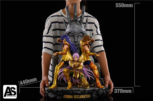 【PRE-ORDER】AS  STUDIO Athena Exclamation  Resin Statue