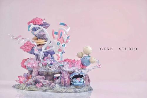 【PRE-ORDER】GENE studio Eevee Pokémon resin statue