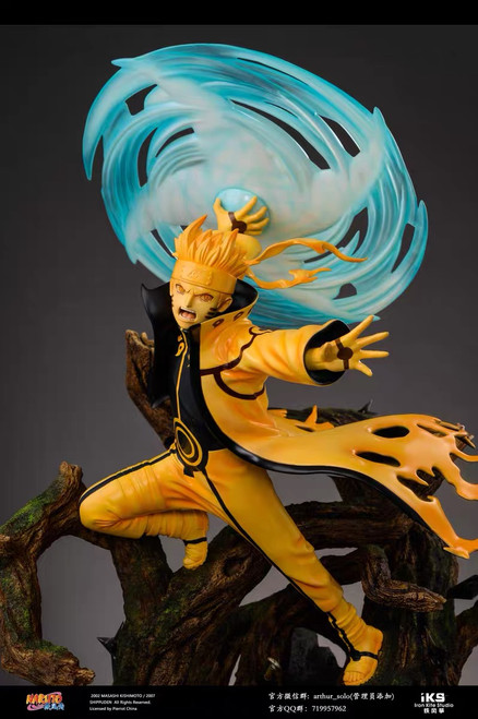 【IN-STOCK】IRON KITE STUDIO Uzumaki Naruto 1/4 scale resin statue