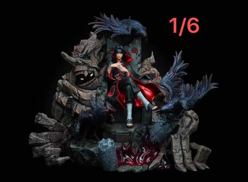 【PRE-ORDER】IZ-Studio throne Uchiha Itachi resin statue