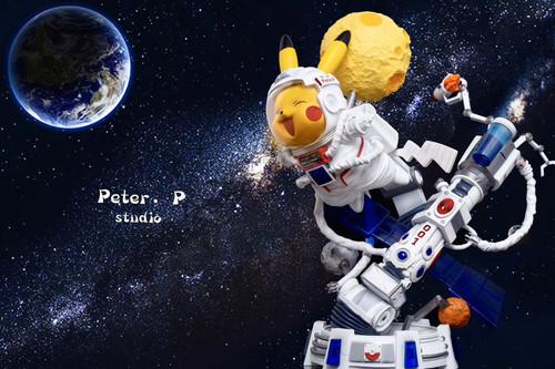 【PRE-ORDER】Peter.P studio  Astronaut Pikachu resin statue