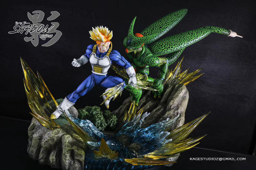 【PRE-ORDER】Shadow studio  Trunks  VS Cell  resin statue 1/6 scale