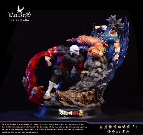 【PRE-ORDER】Karas studio Goku VS Jiren  resin statue
