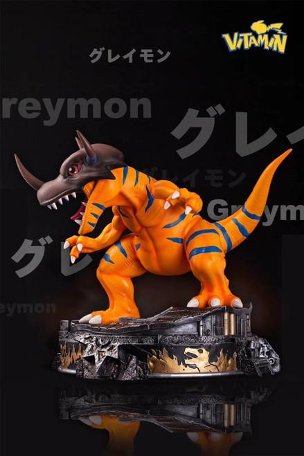 【PRE-ORDER】Vitamin studio Greymon  resin statue
