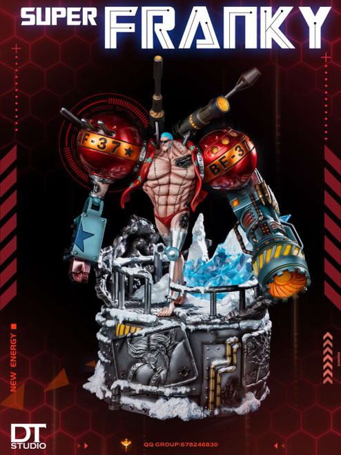 【PRE-ORDER】DT-Studios FRANKY  ONE PIECE resin statue