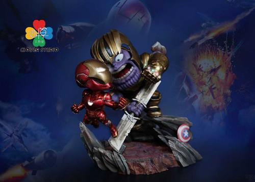 【PRE-ORDER】 clover STUDIO Thanos SD scale resin statue