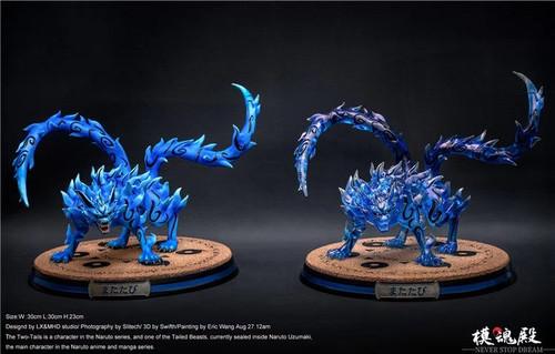 【PRE-ORDER】 LX studio &MHD studio Two tail resin statue