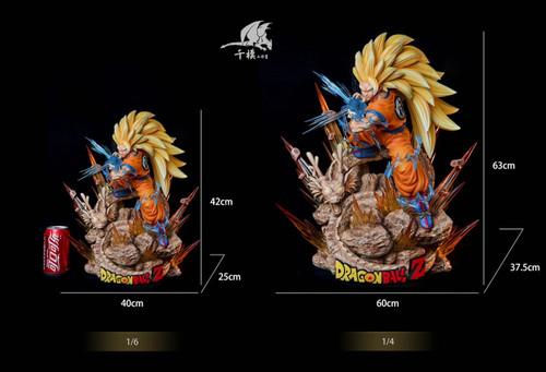 【PRE-ORDER】Qian mo studio goku 1/4&1/6 scale  resin statue