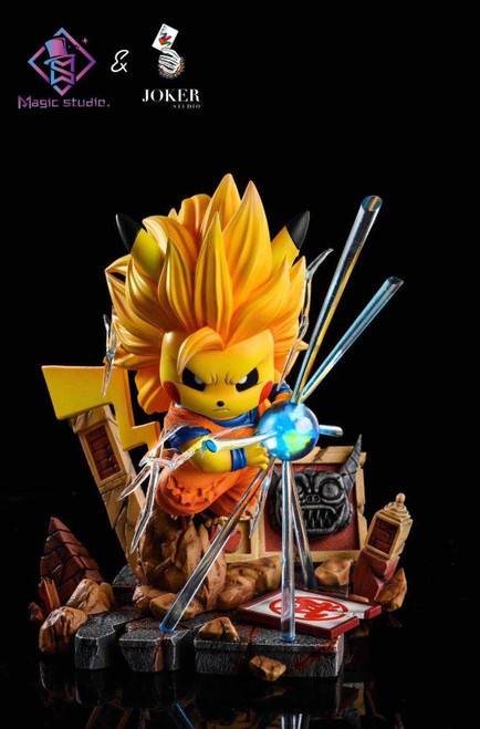 【PRE-ORDER】Magic  Studio & Joker Studio pikachu goku resin statue