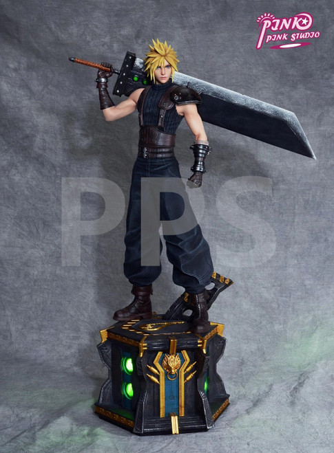 【PRE-ORDER】Pink Pink Studio 1/4 scale Cloud Strife resin statue