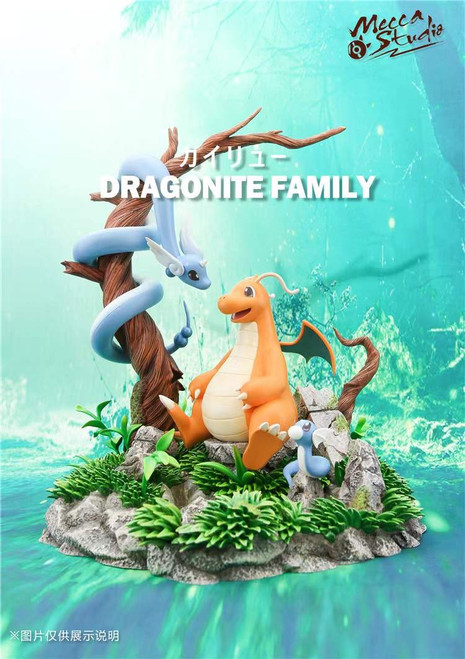 【PRE-ORDER】Mecca  studio  Dragonite Pokémon resin statue