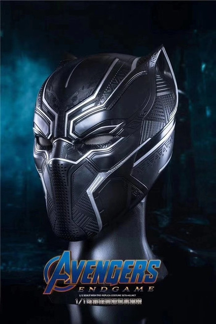 【PRE-ORDER】1:1 Black Panther Collectible Helmet Wearable