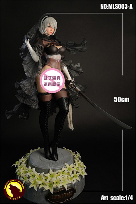 【PRE-ORDER】MOONLIGHT STUDIO  1/4 NieR 2B  Wedding resin statue