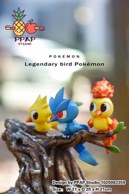 【PRE-ORDER】PPAP Studio   Legendary bird Pokémon  resin statue