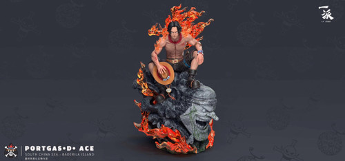 【PRE-ORDER】YP studio Portgas·D· Ace resin statue