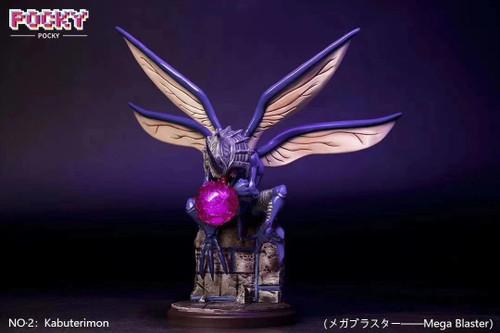 【PRE-ORDER】POCKY STUDIOS Kabuterimonresin statue