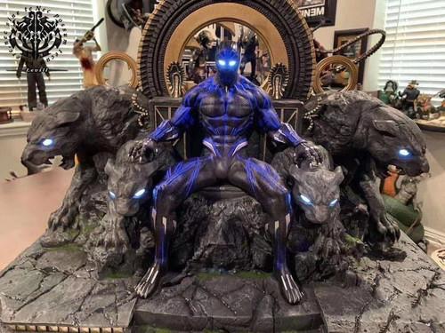 【PRE-ORDER】Levill studio  black Pather of throne