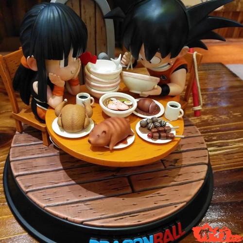 【PRE-ORDER】XX-Studio Dining table Goku & Chichi  resin statue