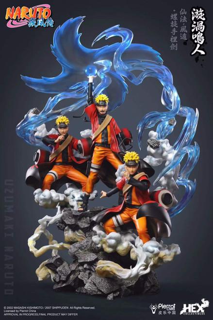 【PRE-ORDER】HEX Collectibles   1/8 scale  Uzumaki Naruto  resin statue
