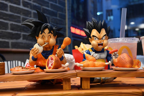 【PRE-ORDER】A+ studio Goku&Vegeta SD Scale resin statue
