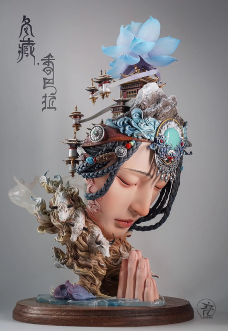 【PRE-ORDER】YUAN XING LIANG Shambhala- winterTibetan resin statue  (Color version))