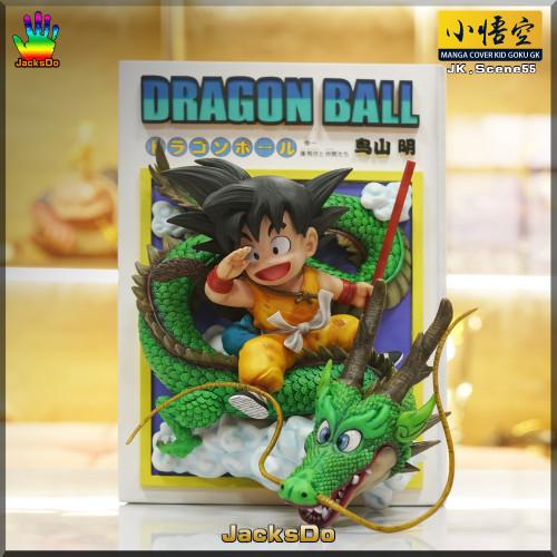 【PRE-ORDER】JacksDo DBZ Manga cover Kid GOKU GK