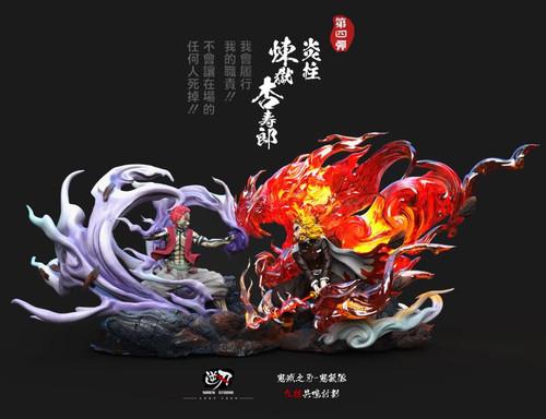 【PRE-ORDER】NIREN STUDIO Rengoku vs Akaza resin statue
