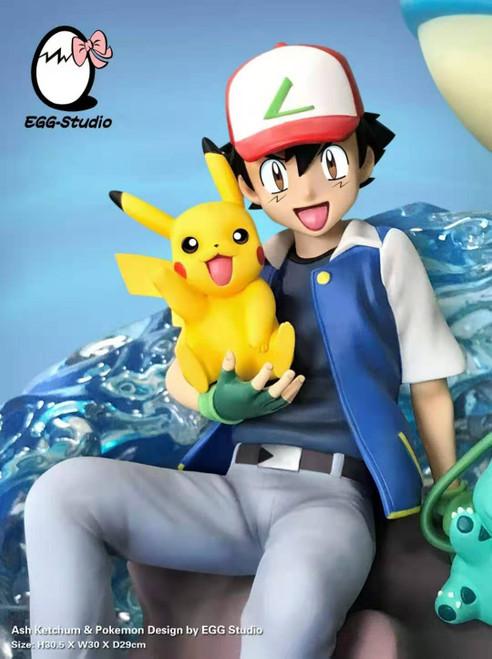 【PRE-ORDER】EGG studio  Pokémon Ash Ketchum resin statue