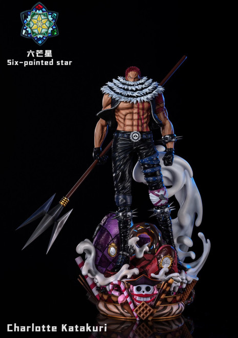 【PRE-ORDER】Six-pointed star Studio Chaelotte Katakuri resin statue