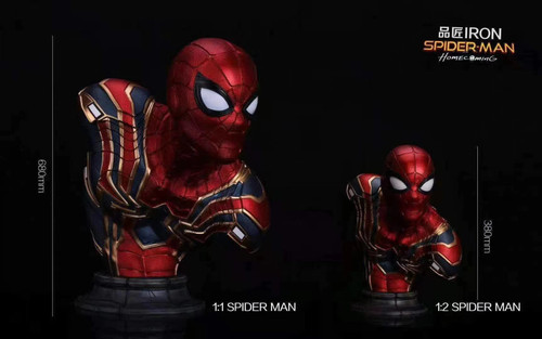 【PRE-ORDER】IRON Studio Spider-Man BUST with LED