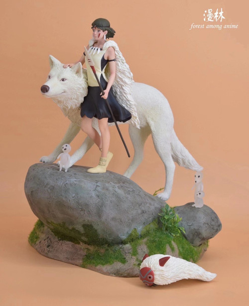 【PRE-ORDER】Forest among anime Studio Princess Mononoke resin statue