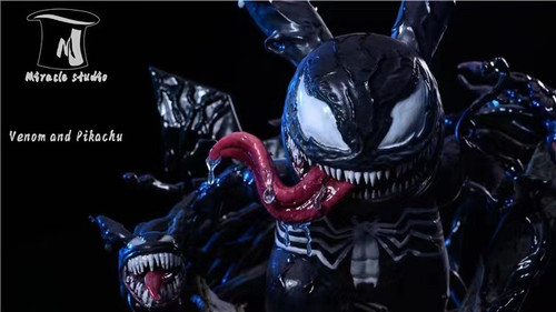 【PRE-ORDER】Miracle Studio Venom and Pikachu resin statue