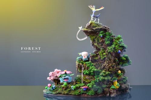 【PRE-ORDER】Gene studio forest resin statue