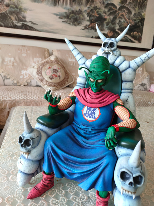 【IN-STOCK】Figure class 1:6 Old King piccolo anime color(white color chair)