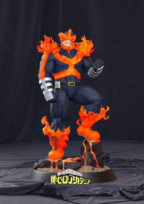 【BlackFriday】RC studio MY Hero resin statue Endeavour 1:6