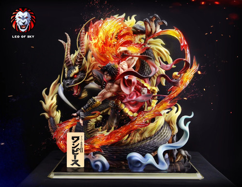【PRE-ORDER】LEO OF SKY Studio Ace  resin statue  with LED