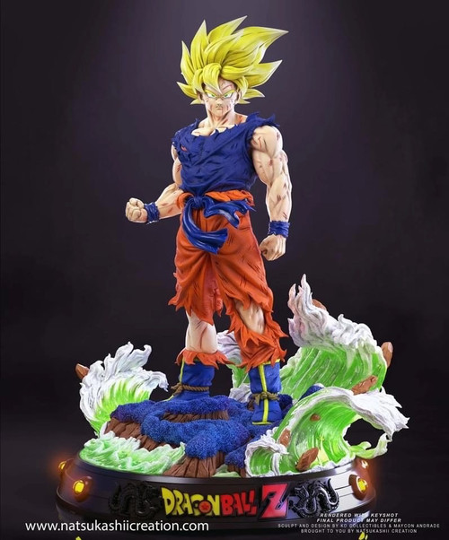 【PRE-ORDER】KD Studio Goku resin statue with LED 1:4