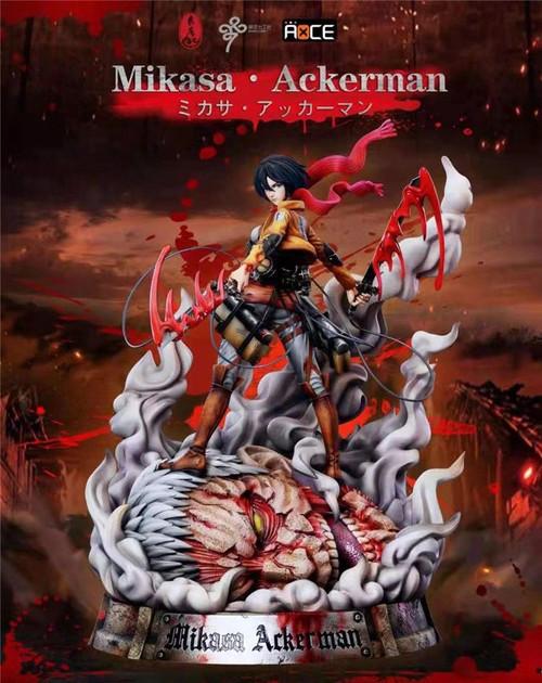 【PRE-ORDER】LC Studio  Mikasa Ackerman resin state 1:6