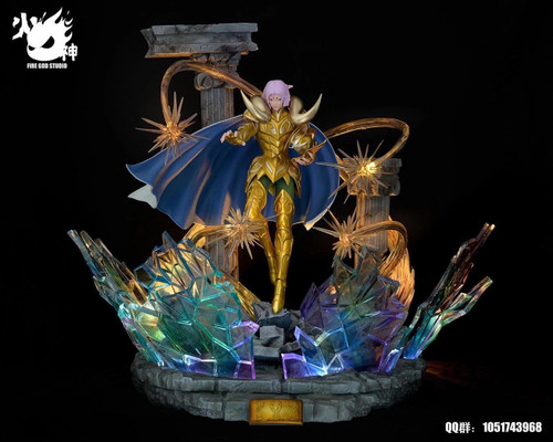 【Pre-order】FIRE GOD Studio Mu resin statue 1:6 with LED