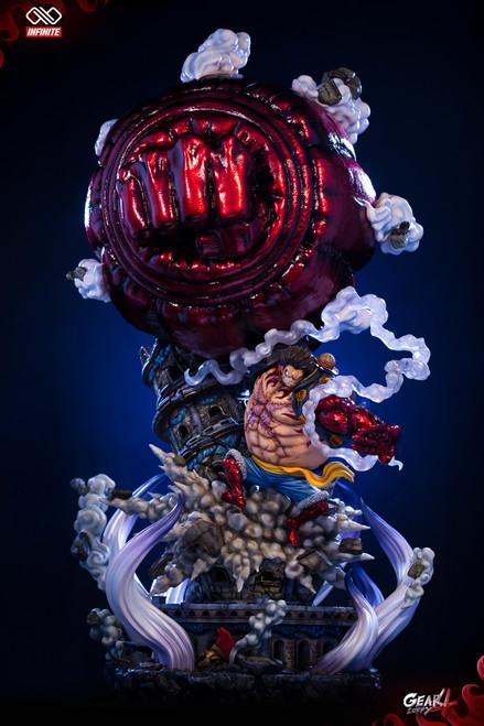 【IN-STOCK】Infinite & Master DU studio 1:4 gear4 luffy resin statue
