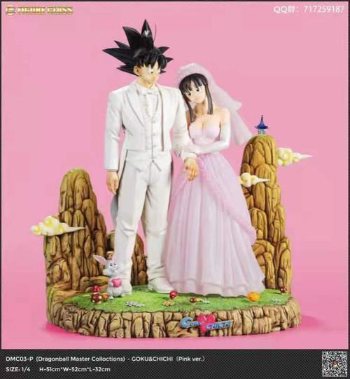 【Pre-order】FC Studio  Goku & Chichi wedding  resin statue  1:4