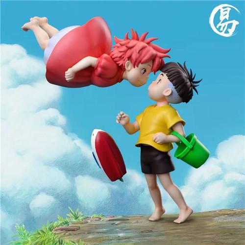 【Pre-order】YI Studio Ponyo and Sosuke resin statue