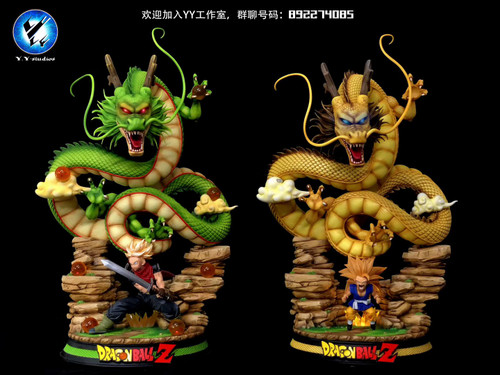 【IN-STOCK】Y.Y-STDUIOS Dragonball  Shenron  resin statue  Yellow color