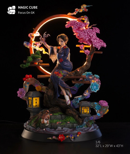 【Pre-order】MAGIC CUBE Studio Tamayo   resin statue 1:6 with led