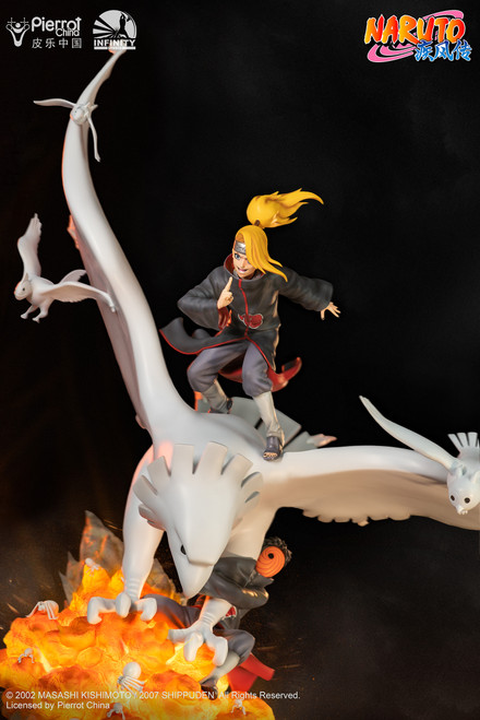 【Pre-order】Infinity Studio 1:6 Naruto Shippūden Series Deidara and Tobi  Licensed