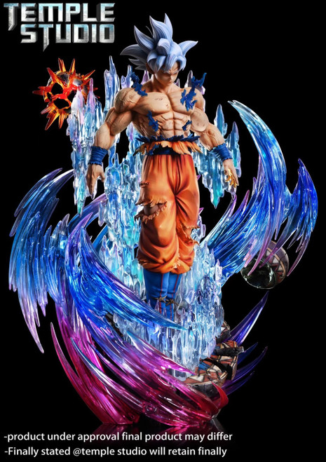 【PRE-ORDER】Temple Studio UI Goku resin statue 1:6 with LED